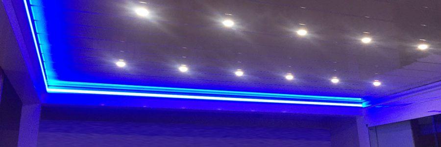 Twist bioclimatica con LED e RGB