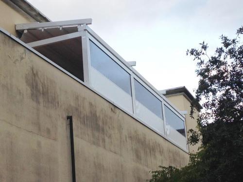 chiusure per tettoie